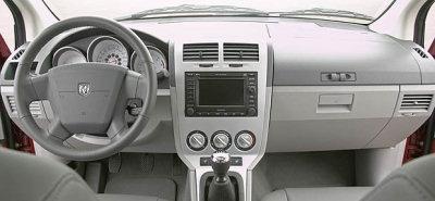 Présentation de l'intérieur de la Dodge Caliber..
